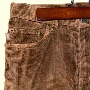 Ralph Lauren vintage brown corduroy pants